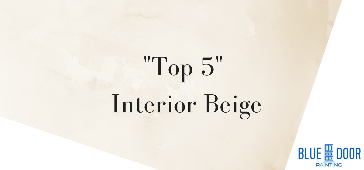 Top 5 Beiges For Interiors Blue